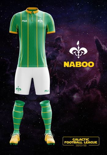 maillot foot Star Wars Naboo