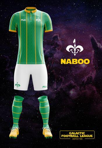 maillot foot Star Wars Naboo