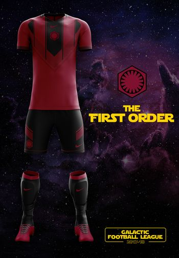 maillot foot Star Wars Premier Ordre