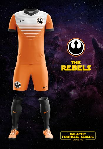 maillot foot Star Wars Rebels