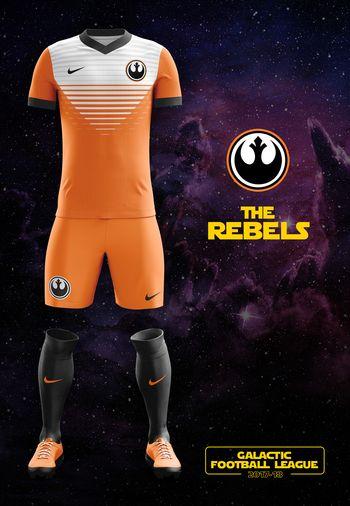 maillot foot Star Wars Rebels