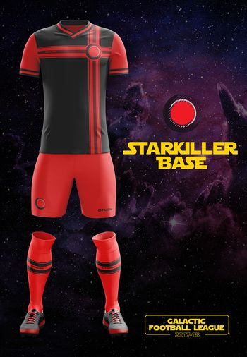 maillot foot Star Wars Starkiller Base