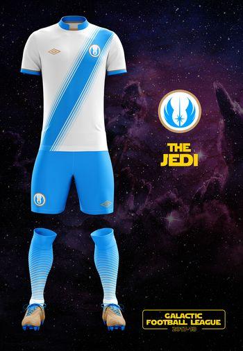 maillot foot Star Wars alderaan wanderers