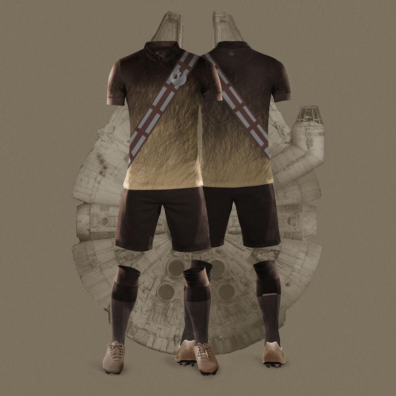 maillot star wars chewbacca