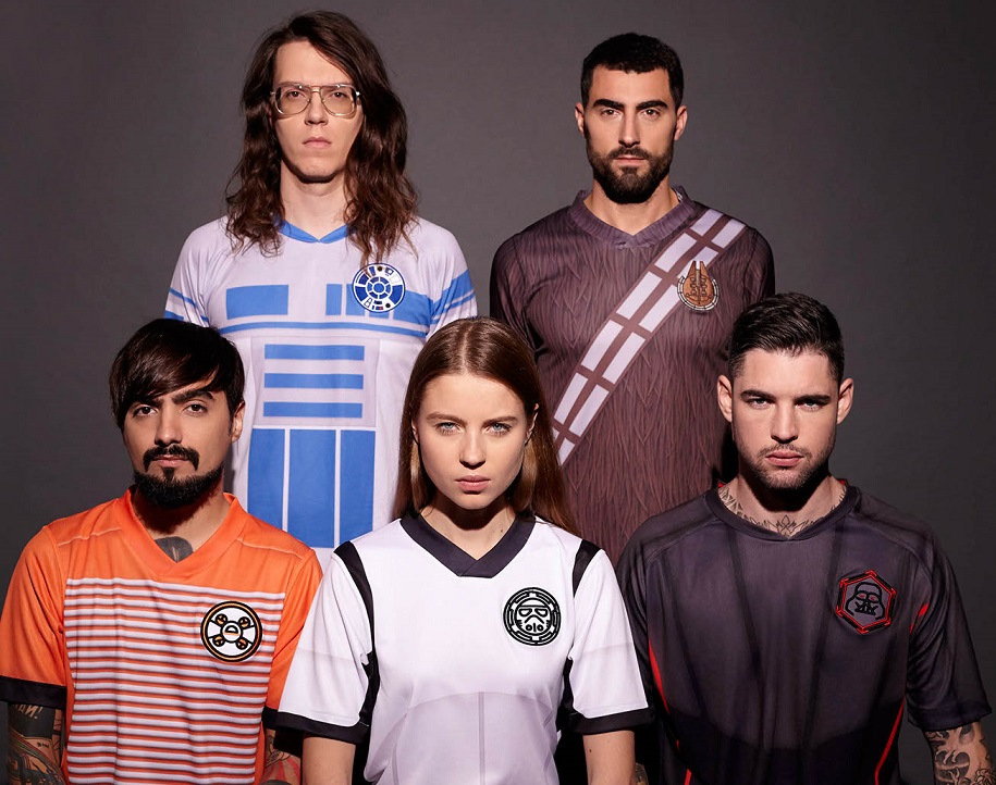maillots de football Star Wars