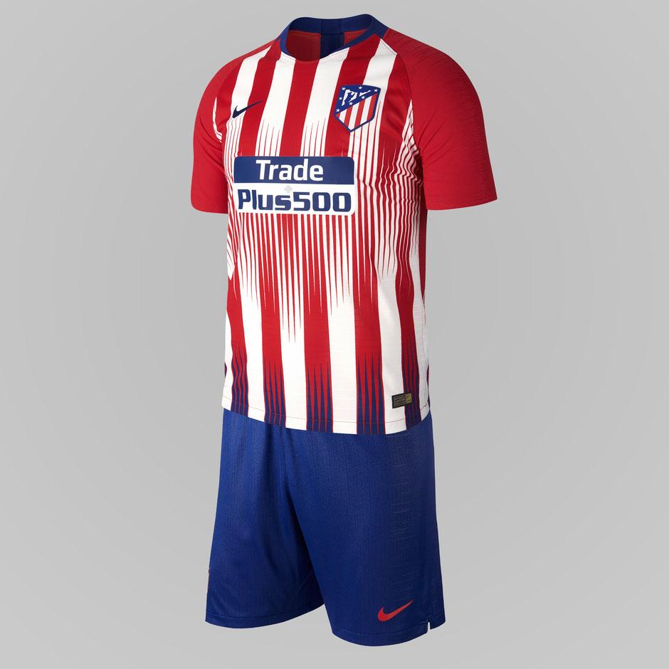 Atletico Madrid 18 19 nouveau maillot officiel domicile Nike