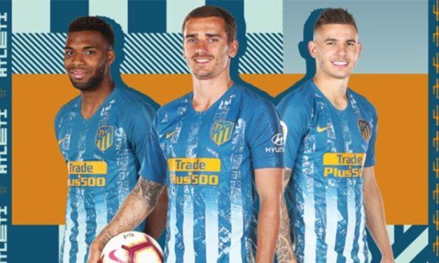 Atletico Madrid 2019 les nouveaux maillots audacieux de Nike