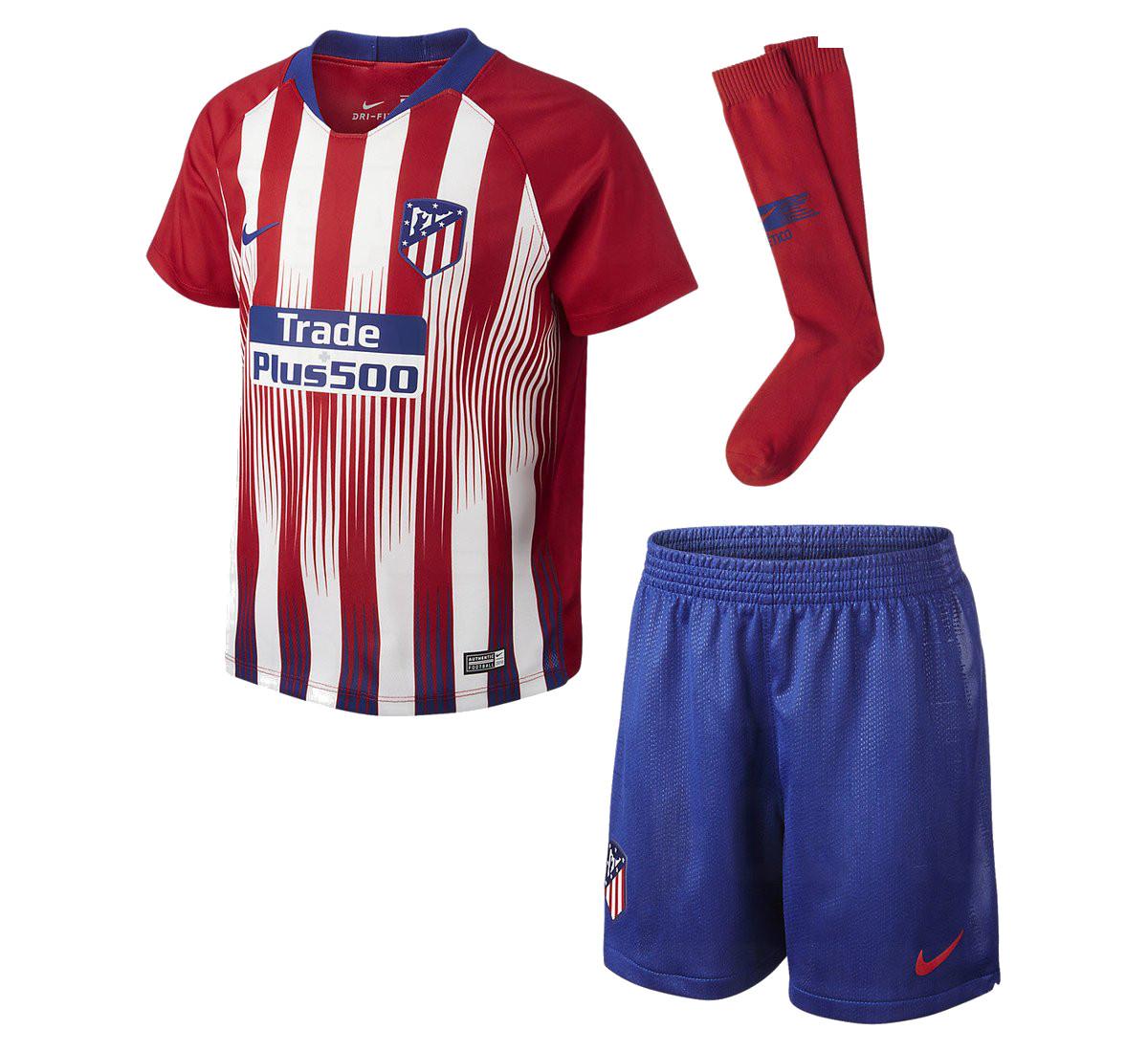 Atletico Madrid 2019 maillot domicile officiel