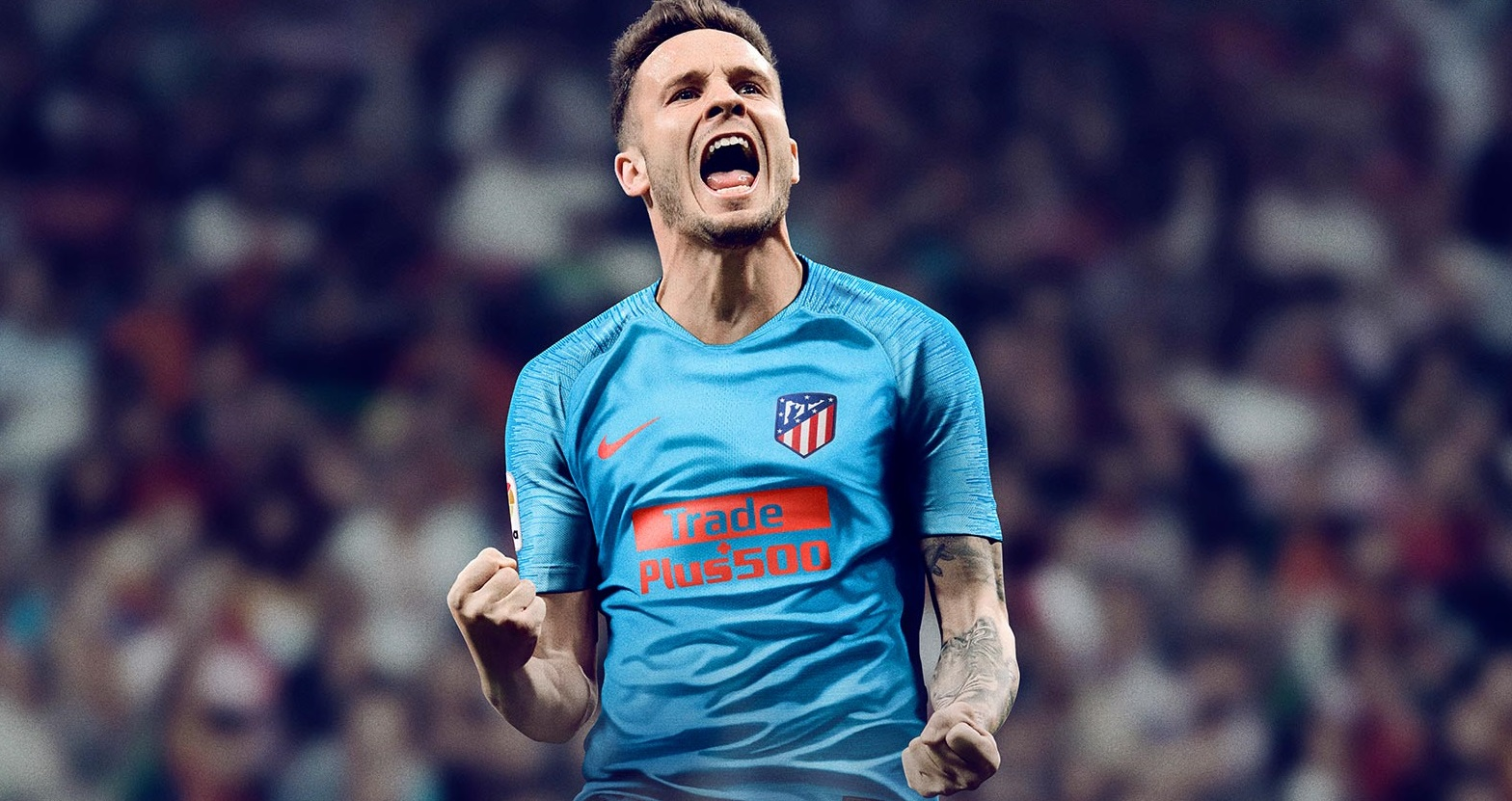 Atletico Madrid 2019 maillot officiel foot extérieur