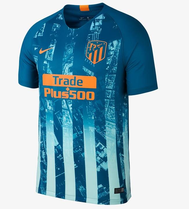 Atletico Madrid 2019 maillot third 2018 2019