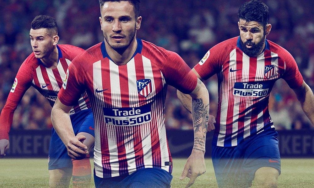 Atletico Madrid 2019 nouveau maillot officiel