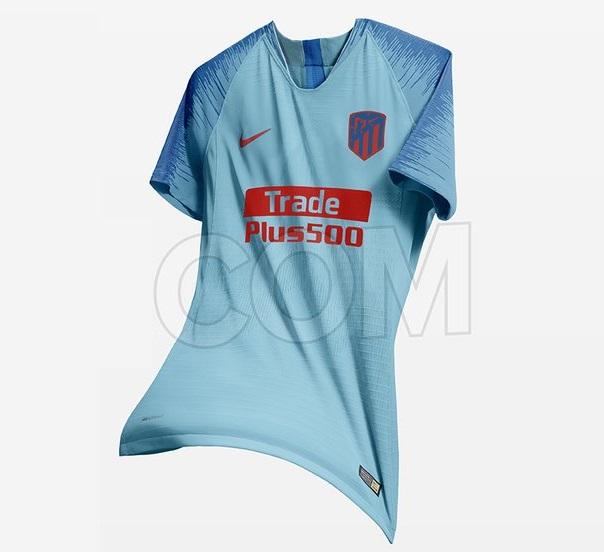 Atletico Madrid 2019 prediction maillot de foot extérieur bleu