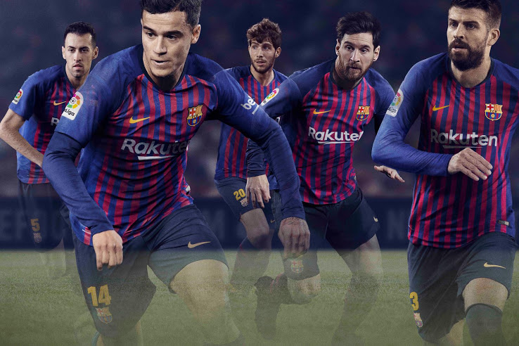 Barcelone 2018 2019 maillot de foot