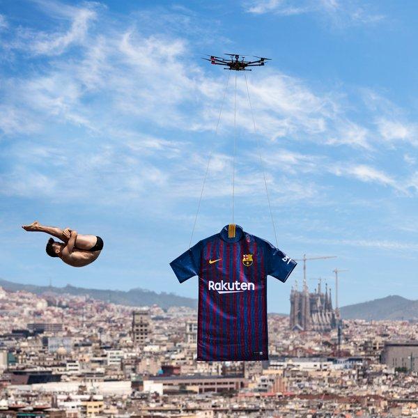 Barcelone 2019 maillot domicile présentation officielle