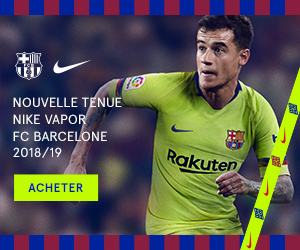 Barcelone 2019 maillot exterieur 2018 2019 foot officiel