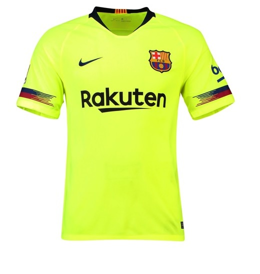 Barcelone 2019 maillot exterieur 2018 2019