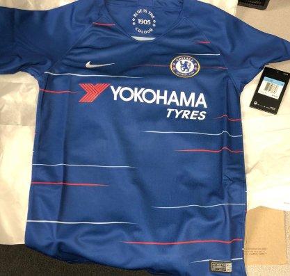 Chelsea 2019 maillot de football 2018 2019 domicile Nike