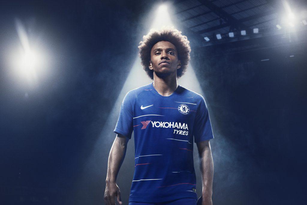 Chelsea 2019 maillot de football Nike domicile 2018 2019