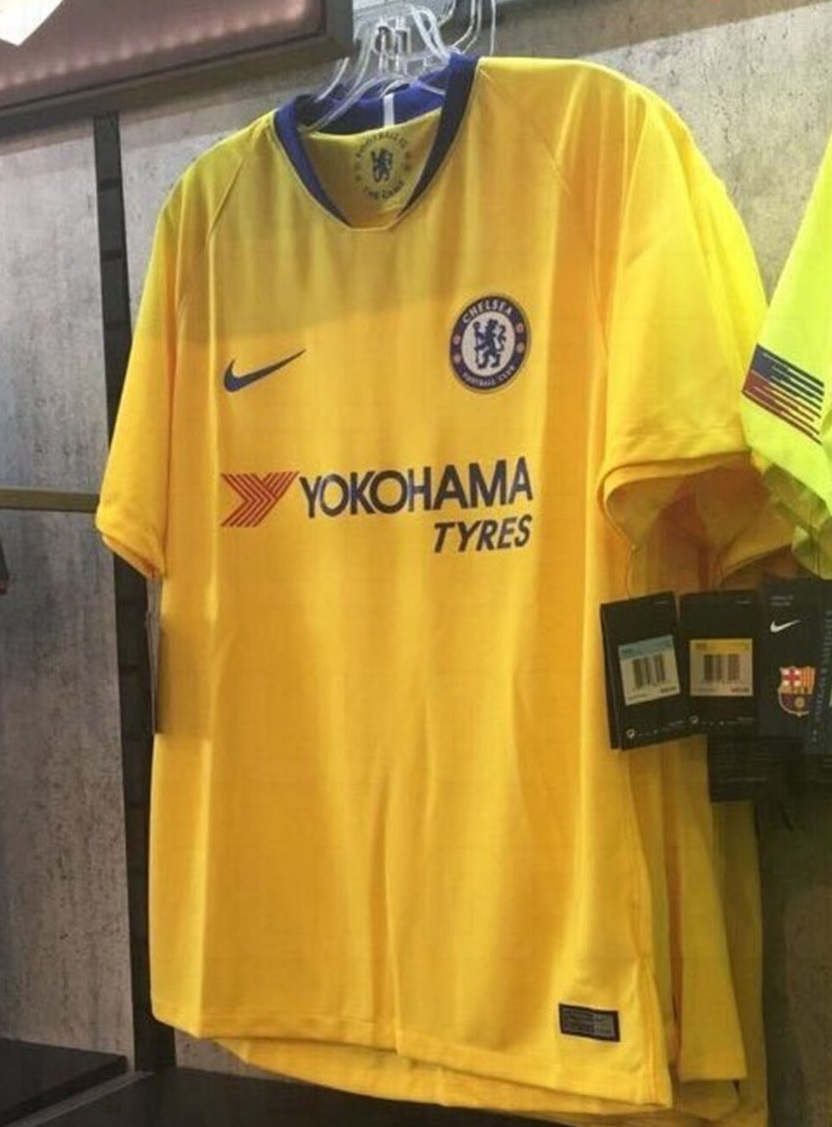 Chelsea 2019 maillot extérieur foot officiel Nike