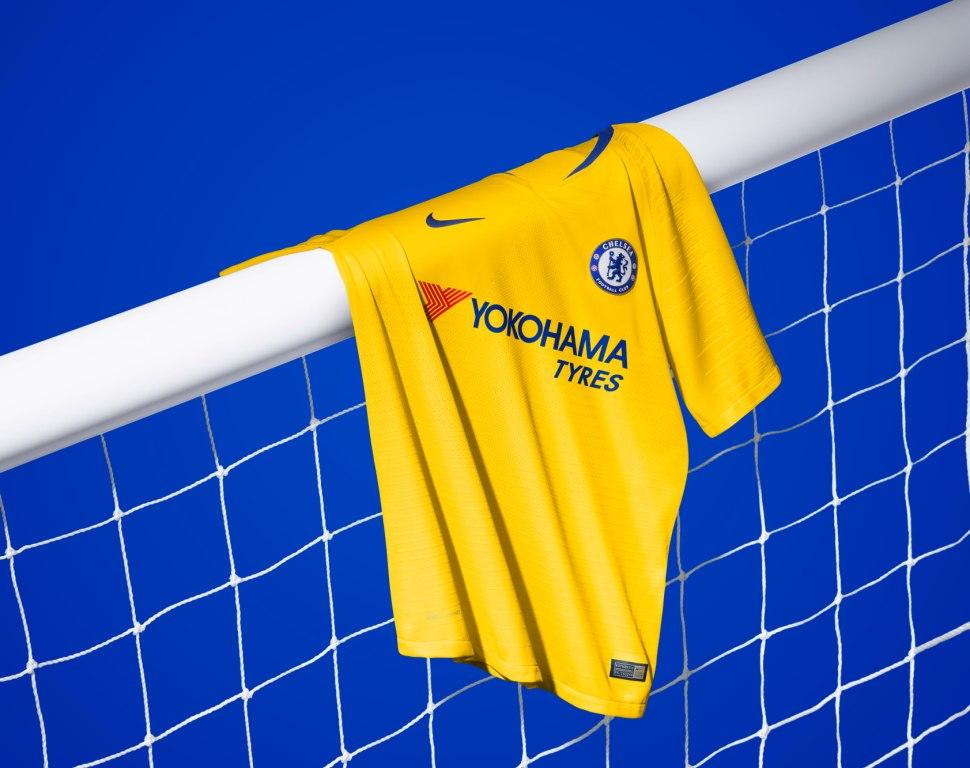 Chelsea 2019 maillot exterieur 2018 2019 Nike