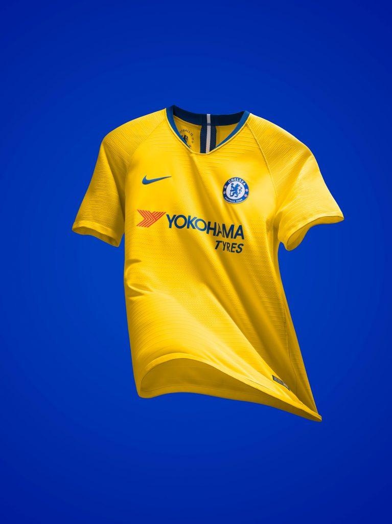 Chelsea 2019 maillot exterieur jaune