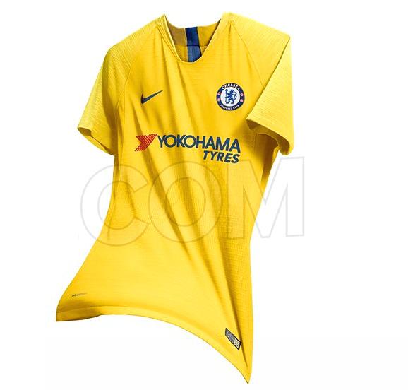 Chelsea 2019 maillot foot extérieur jaune Nike possible