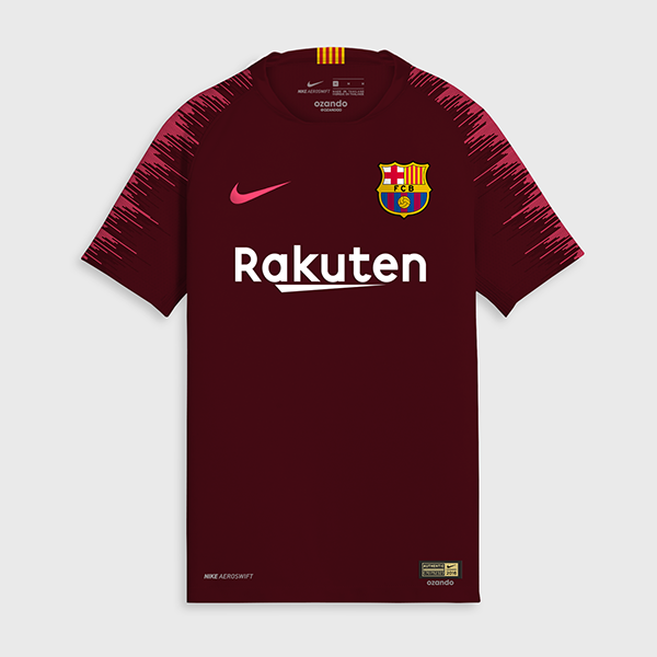FC Barcelone 2019 3eme maillot de foot third 18 19
