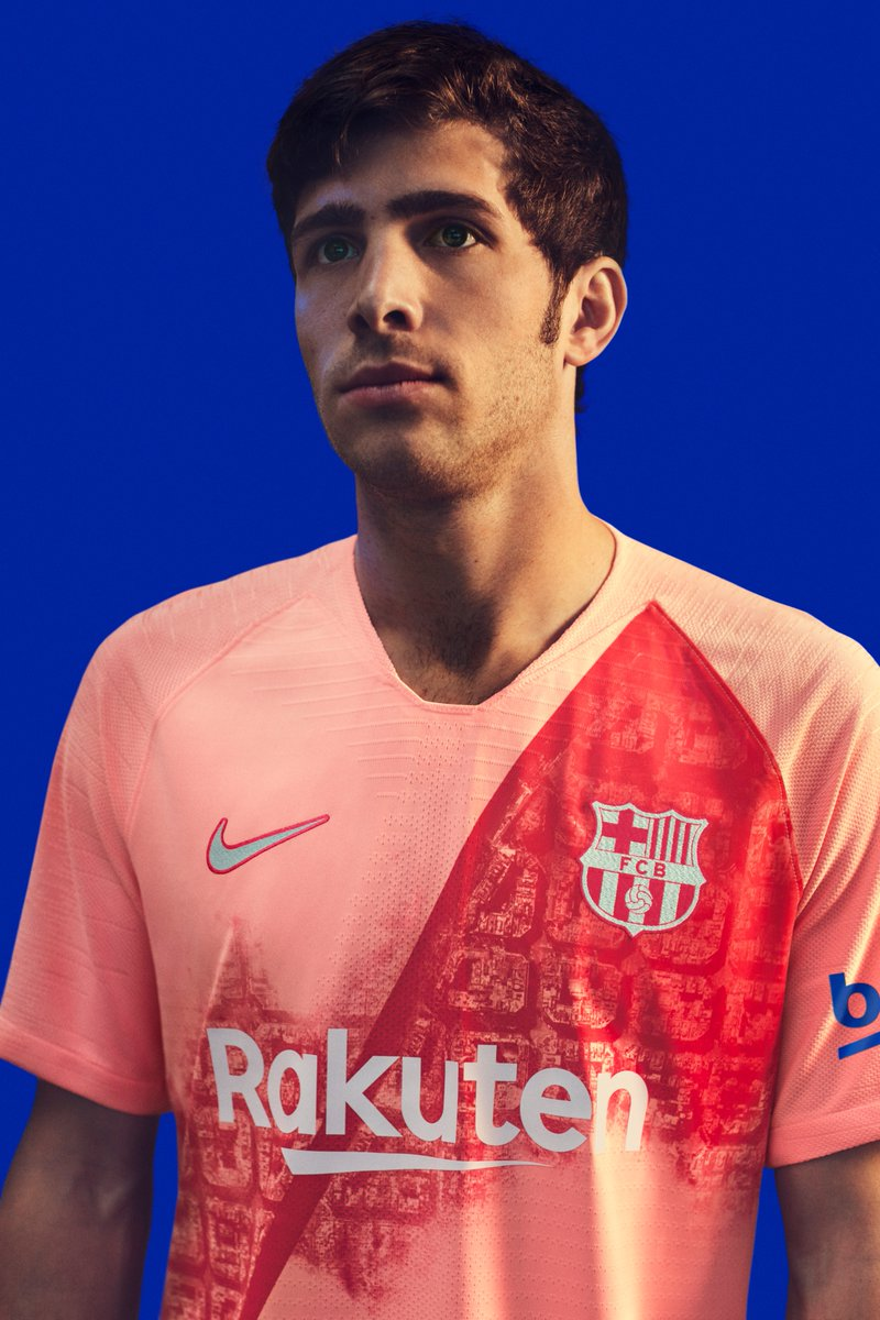 FC Barcelone 2019 3eme maillot third 2018 2019