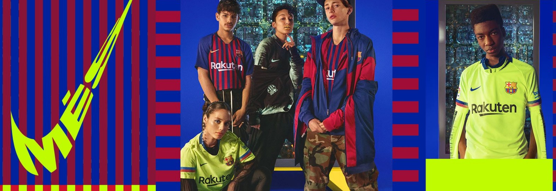 FC Barcelone 2019 collection football 2018 2019