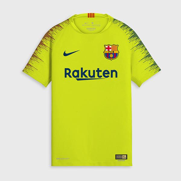 Les nouveaux maillots de foot fc barcelone 2019 maillots for Barcelone maillot exterieur