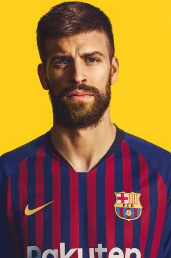 FC Barcelone 2019 maillot domicile 18 19
