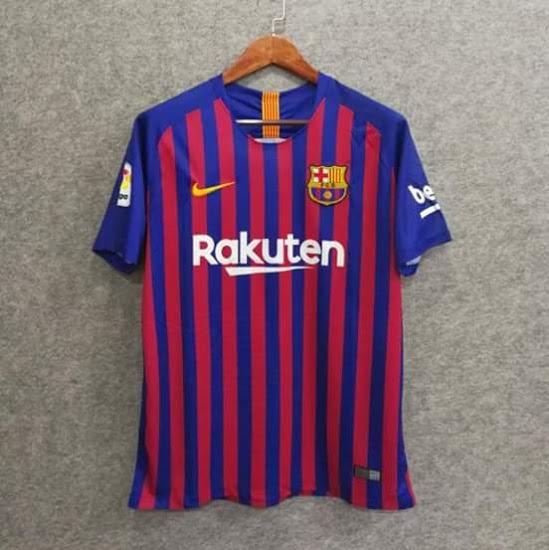 FC Barcelone 2019 maillot domicile face Nike