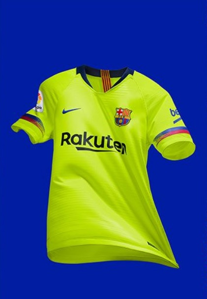 FC Barcelone 2019 maillot extérieur football Nike