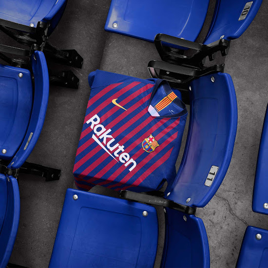 FC Barcelone 2019 maillot football domicile 18 19