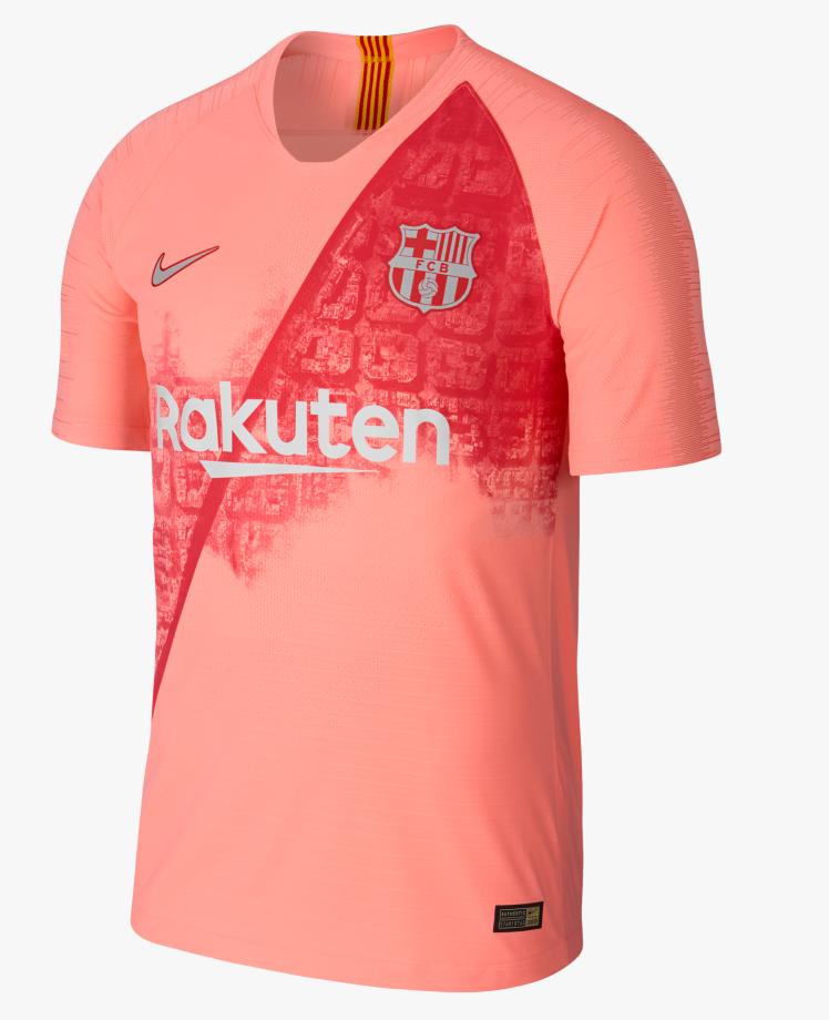 FC Barcelone 2019 nouveau maillot third officiel Nike