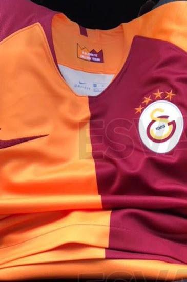 Galatasaray 2019 maillot de foot domicile Nike 18 19