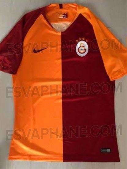 Galatasaray 2019 maillot domicile Nike 18 19