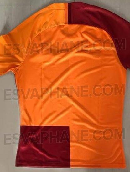 Galatasaray 2019 maillot domicile dos 2018 2019