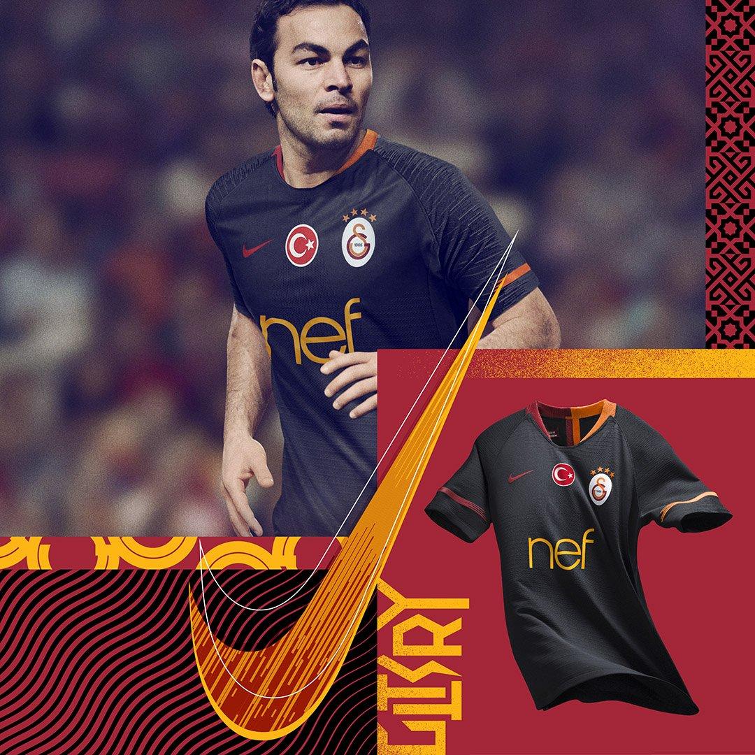 Galatasaray 2019 maillot exterieur Nike