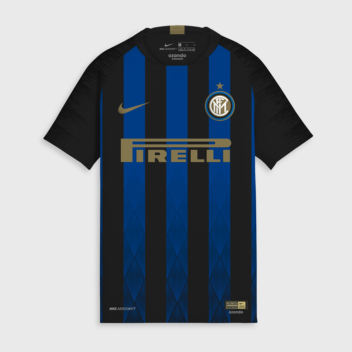 inter milan 2019 possible maillot de football domicile 18 19 maillots foot actu. Black Bedroom Furniture Sets. Home Design Ideas