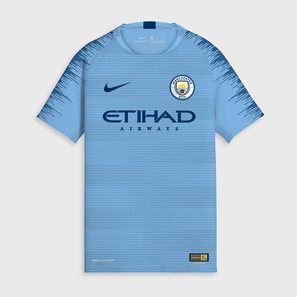 Manchester City 18 19 maillot de foot domicile possible