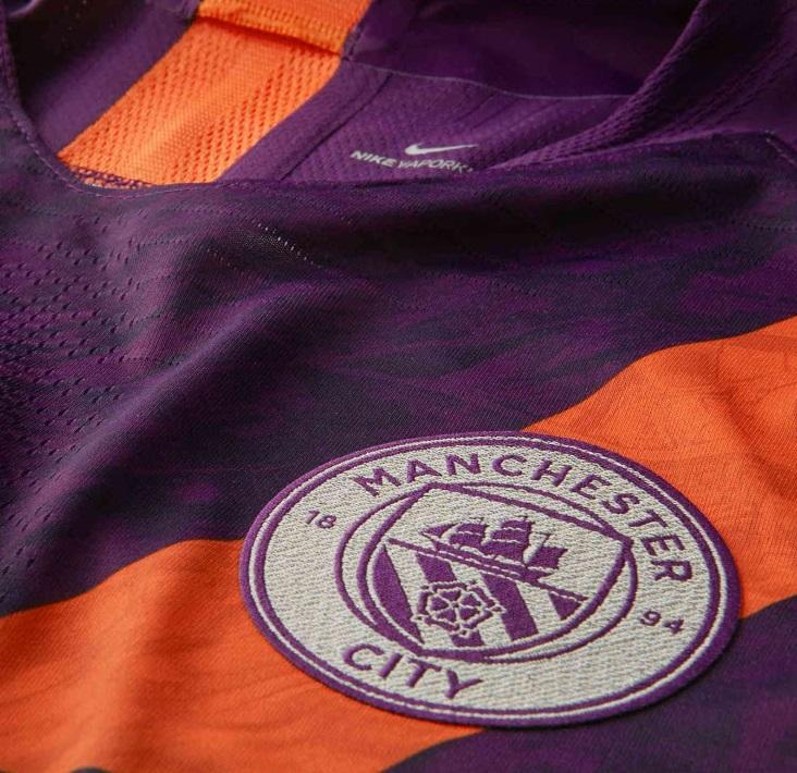 Manchester City 2019 Nike maillot third blason