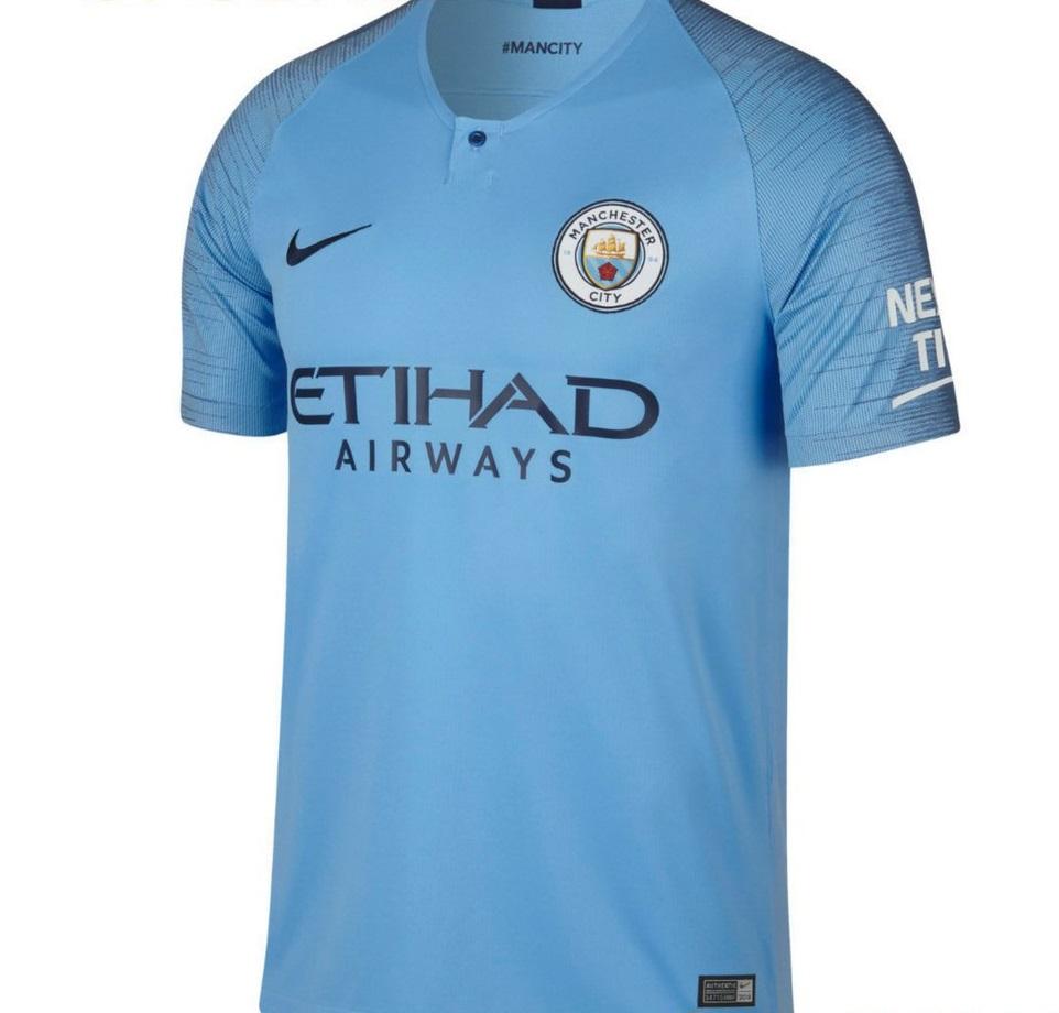 Manchester City 2019 maillot de foot domicile 2018 2019