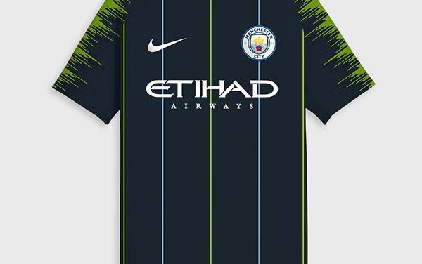 Manchester City 2019 les nouveaux maillots de football 18-19