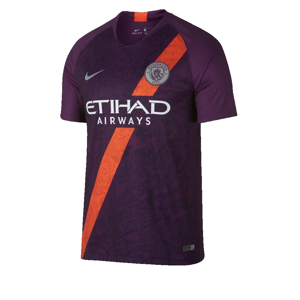 Manchester City 2019 nouveau maillot third 18 19