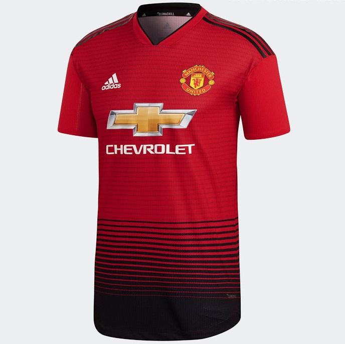Manchester United 2019 maillot de foot domicile 18 19 1