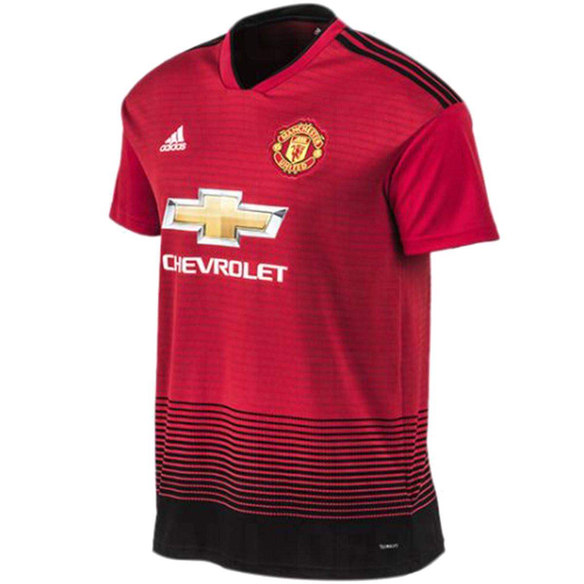 les nouveaux maillots manchester united 18 19 par adidas maillots foot actu. Black Bedroom Furniture Sets. Home Design Ideas