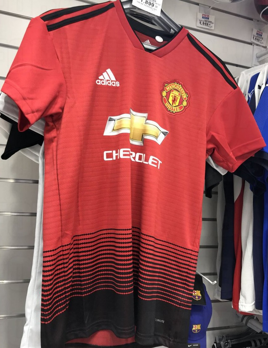 Manchester United 2019 maillot de foot domicile Adidas