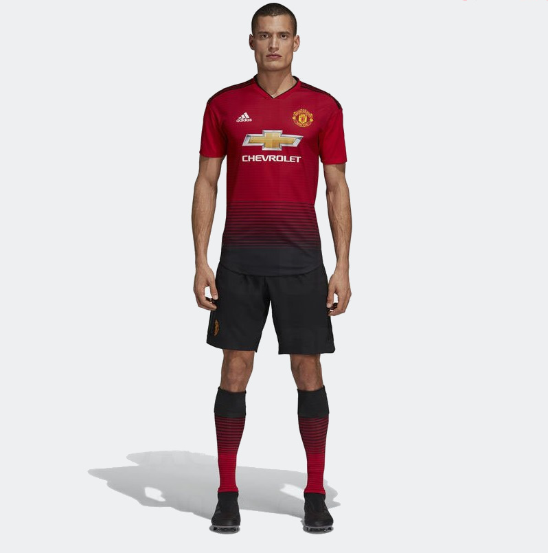 Manchester United 2019 maillot domicile 18 19. Adidas