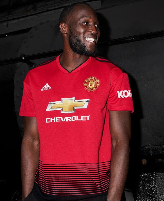 Manchester United 2019 maillot domicile Lukaku